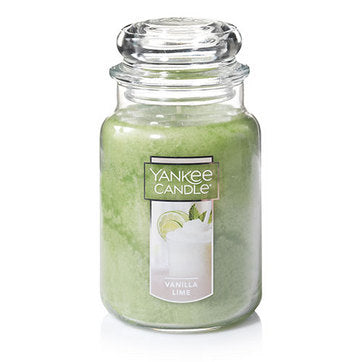 Vanilla Lime Large Jar Candle