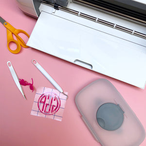 DIY Personalized Baby Gear: Transform a Boring Baby Wipe Case with Adhesive Vinyl