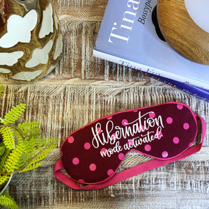 Craftey + Bossy Brushstrokes: Create a Fun DIY Sleep Mask Using Color Chimp Essentials Heat Transfer Vinyl {+ a FREE Hand Lettered Cut File}
