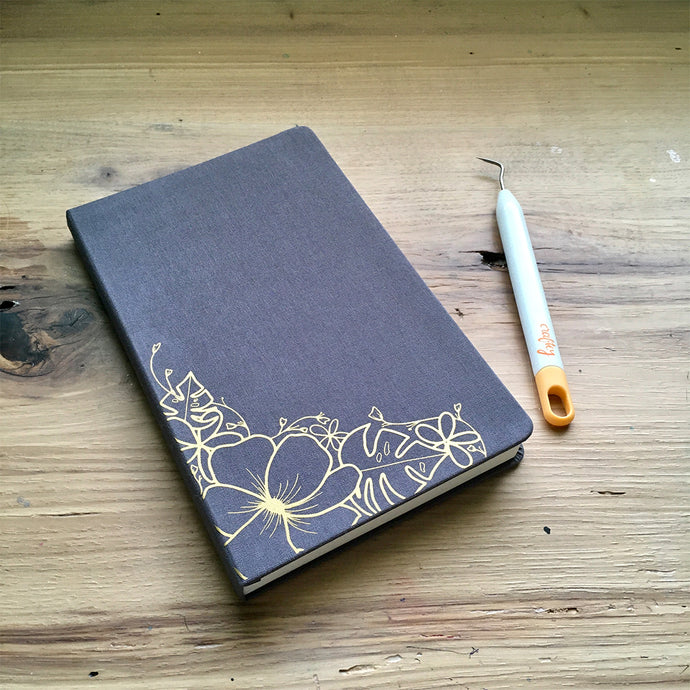 You Can Make It: Customize a Journal Cover with Color Chimp Luxe Heat Transfer Vinyl