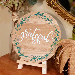 DIY Fall Decor: Create A Wood Sign with Color Chimp Heat Transfer Vinyl