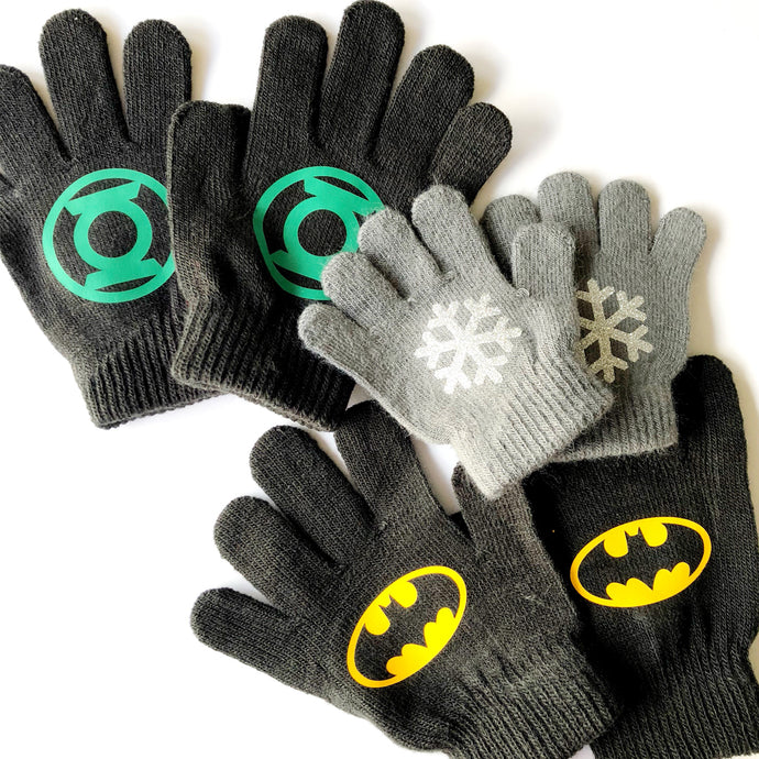 Make Custom Gloves Your Family Will Love Using Color Chimp Heat Transfer Vinyl