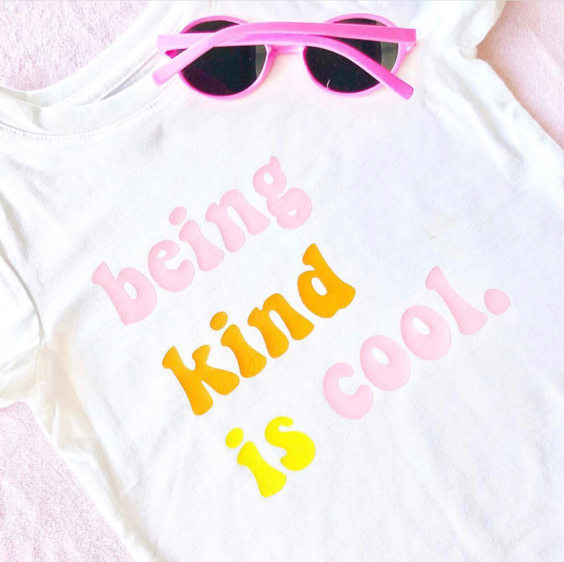 DIY A Retro Inspired Quote Tee with Color Chimp Luxe Heat Transfer Vinyl!