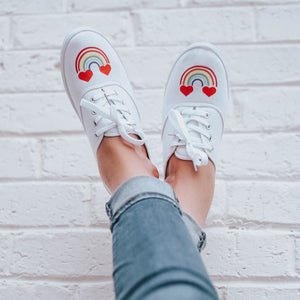Create a Pair of Trendy Canvas Shoes With Color Chimp Heat Transfer Vinyl