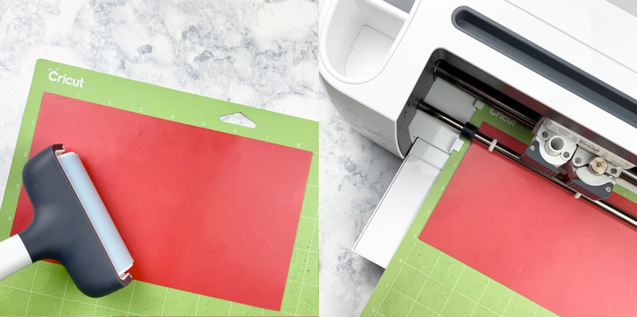 Craftey + Meaghan Makes - DIY Gift Idea: Pouch Using Color Chimp Flock HTV Prep Vinyl and Cut