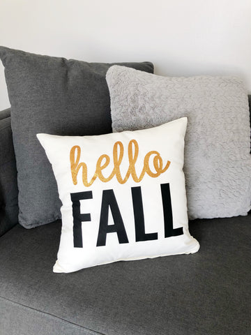 Craftey + Project Silhouette Fall Pillow Iron on final 2