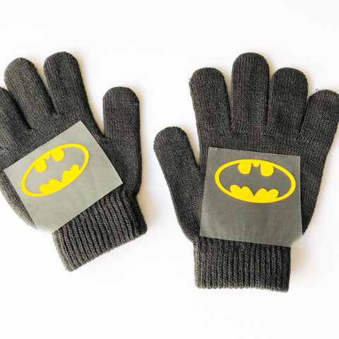 Craftey + Project Silhouette Custom Kids Gloves with Heat Transfer Vinyl Place HTV