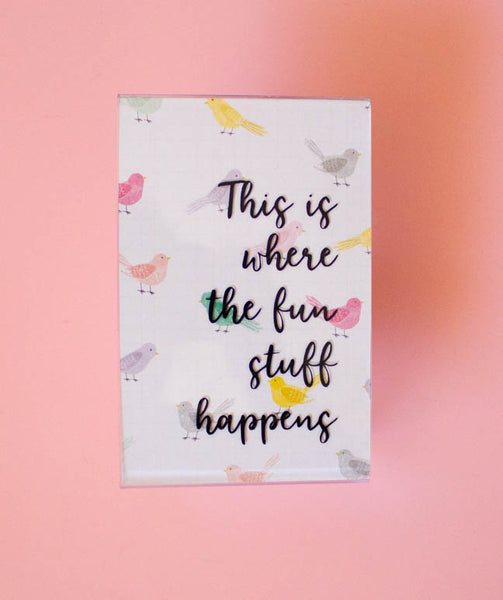 DIY Inspirational Quote Frames with Vinyl Silhouette Quote 3