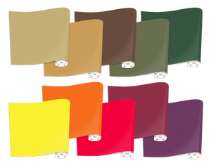 Heat Transfer Vinyl Fall Colors Bundle