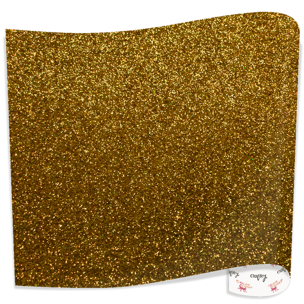"Color Chimp Glitter  20"" X 3' Heat Transfer Vinyl"