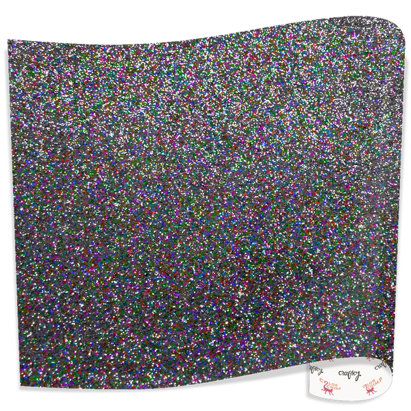 "Color Chimp Glitter  20"" X 15' Heat Transfer Vinyl"