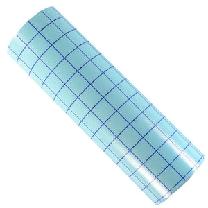 "Clear Transfer Tape with Grids for Adhesive Vinyl  12"" x 5 Yards"