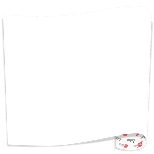 "ORACAL 651 12"" X 12"" Adhesive Sign Vinyl, 5 Sheet Bundle in White"