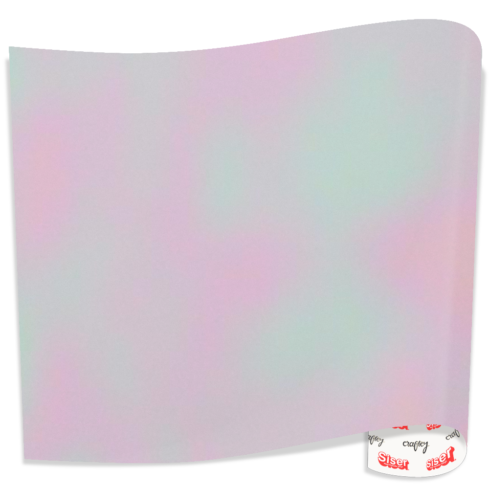 "SISER Holographic 19.66"" X 3'"
