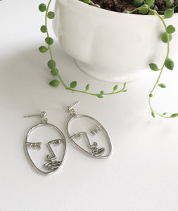 Winky Face Earrings