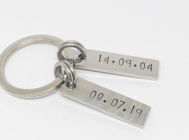 Your Special Dates Keyring