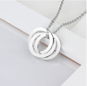 Double Love Link Necklace