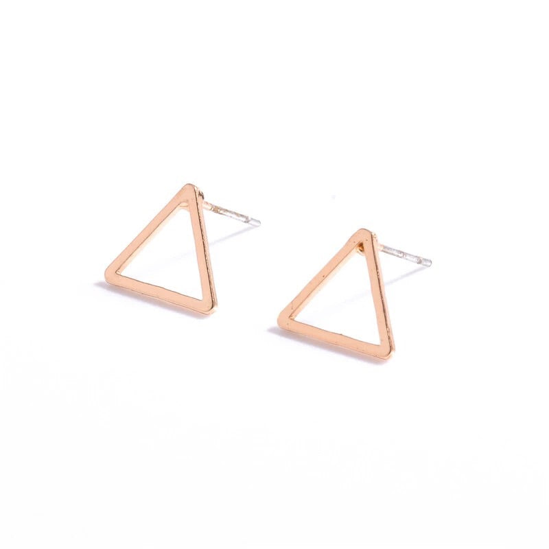 Triangle Outline Earring