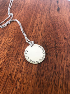Names Necklace