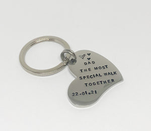 Wedding keyring