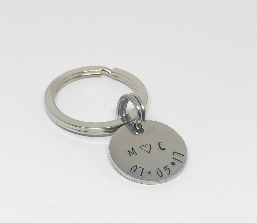 Lovers Keyring
