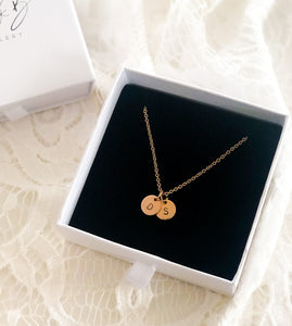 Rosegold - Initial Necklace