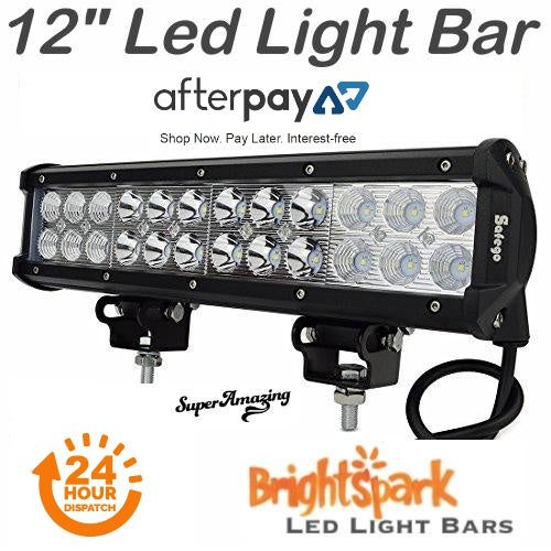 "12"" Cree Led Light Bar - BrightSparkLedCo"