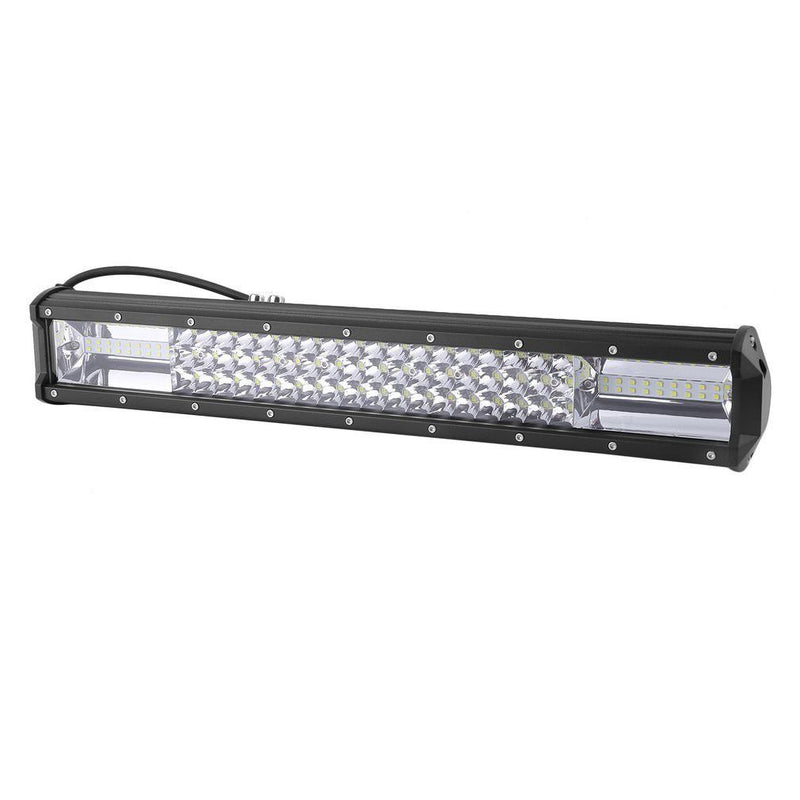 "Philips 20"" TRI  7D Light Bar,Number Plate & Wire - BrightSparkLedCo"