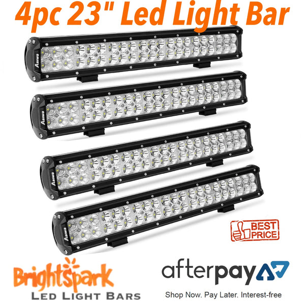 "4 x 23"" Cree Led Light Bars And Mounts. - BrightSparkLedCo"