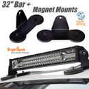 Curved light bars