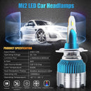 PAIR Philips Mi2 Led Headlights,6K, Super Mini,!!!