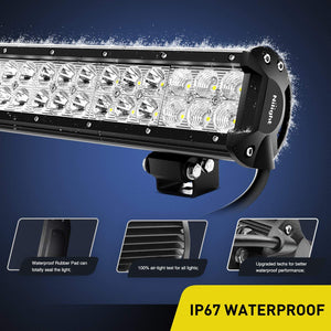 "10 x 23"" Cree Led Light Bars And Mounts. - BrightSparkLedCo"