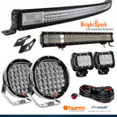 "52"" led Bar + 9"" Cree Led Spotlights +MORE"