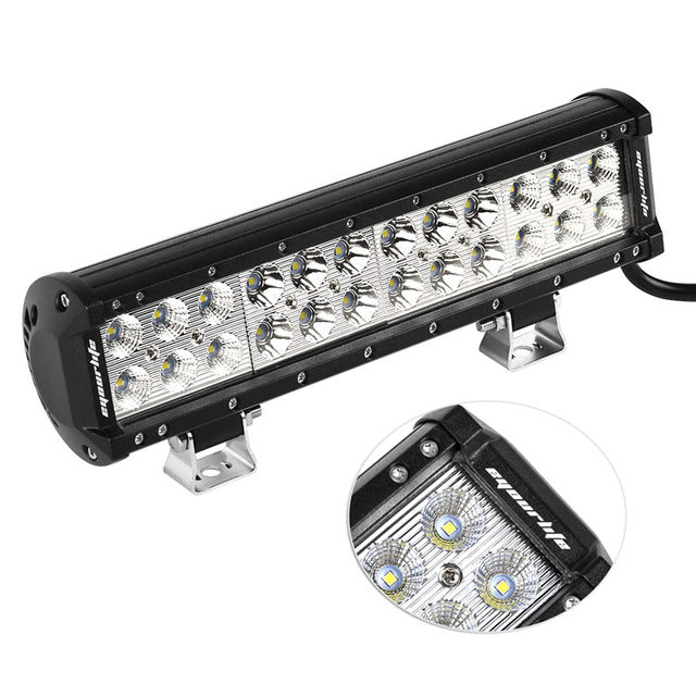 "12"" Cree Led Light Bar and 2 x 4"" Led Spotlights - BrightSparkLedCo"