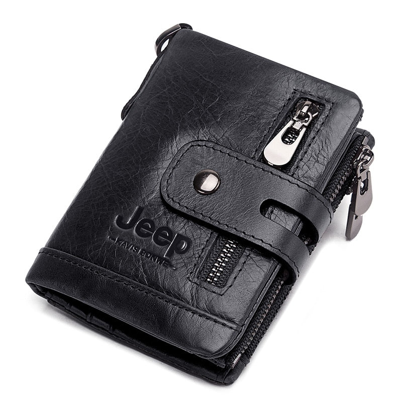 Luxury Designer Men Wallet Genuine Leather Bifold Short Wallets