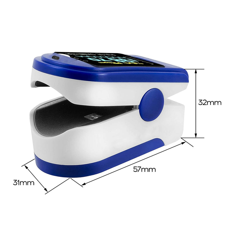 Oximeter Saturation Heart Rate Monitoring Finger Clip Detection