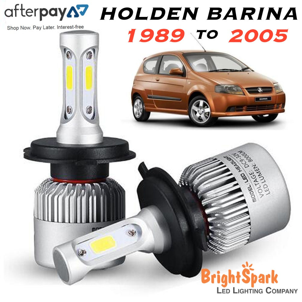 HOLDEN BARINA Led Headlight, Conversion Kit 1989-2005 - BrightSparkLedCo