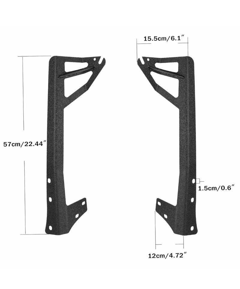 Wind shield mounting brackets Universal Fits