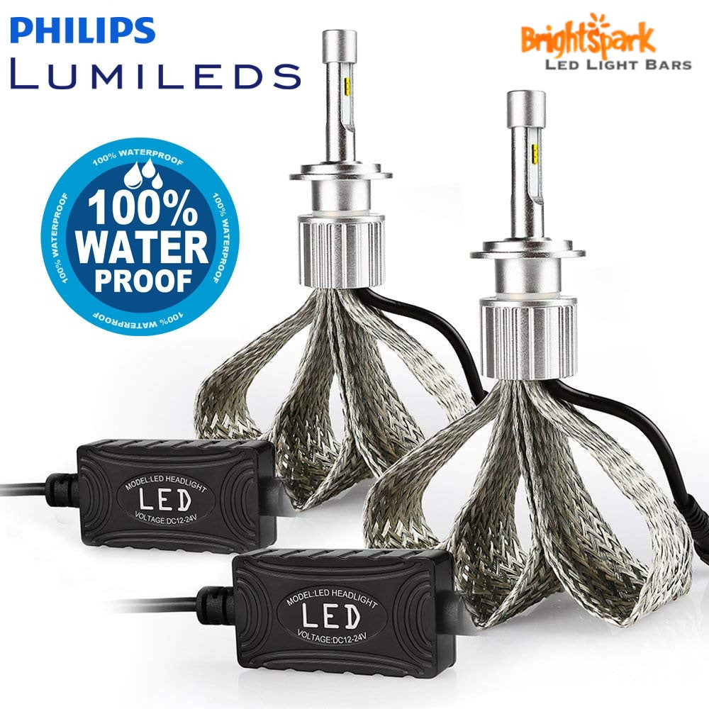 H11 Philips Titanium Led Headlight  6th Generation
