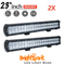 "2 x 23"" 228 WATT Cree Led Light Bar, - BrightSparkLedCo"