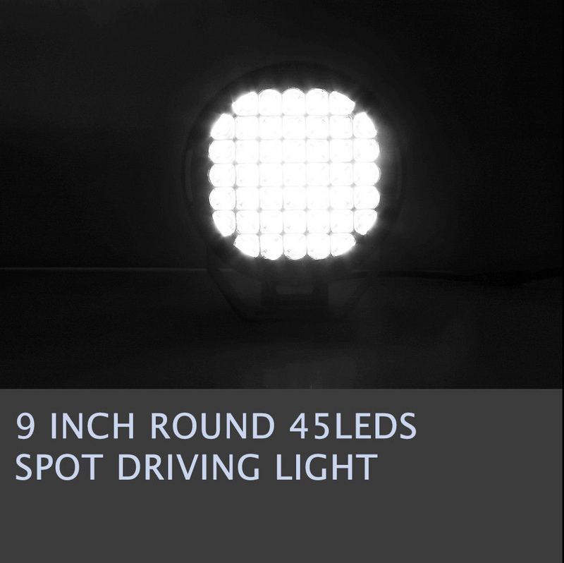 "9"" PAIR Cree Led Spotlight,Turns night into Day - BrightSparkLedCo"