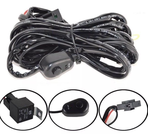 "52"" 7D. 1450WATT Curved Led Light Bar Free wiring Harness - BrightSparkLedCo"