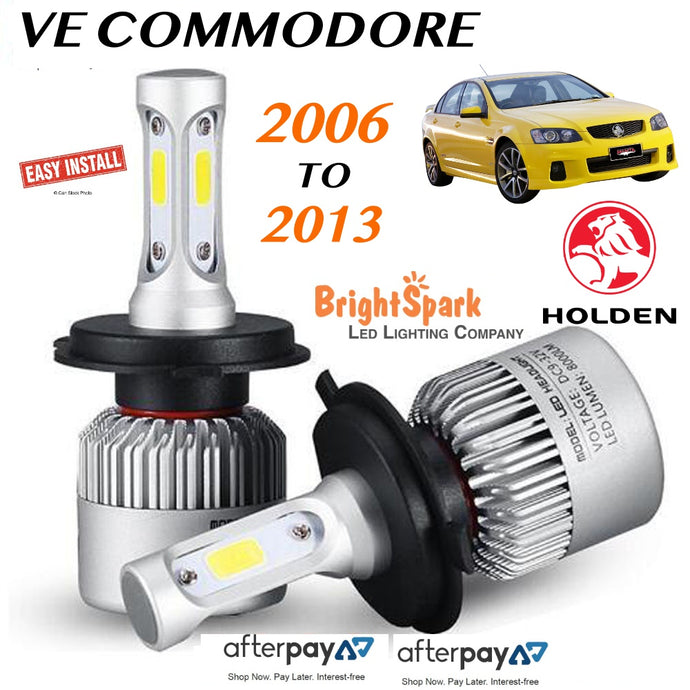 VE COMMODORE Led Headlight, Conversion Kit 2006-2013 - BrightSparkLedCo