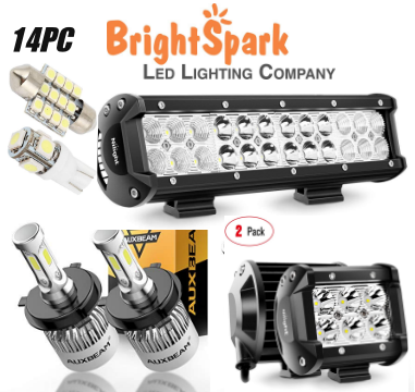 Beginners Pack complete car lights, led lights