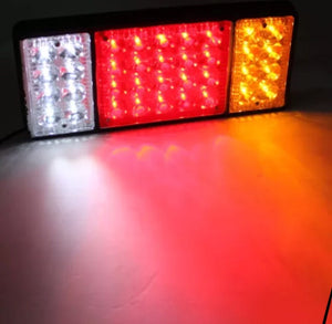2x 36 Led rear trailer caravan Ute, 12v truck lights - BrightSparkLedCo