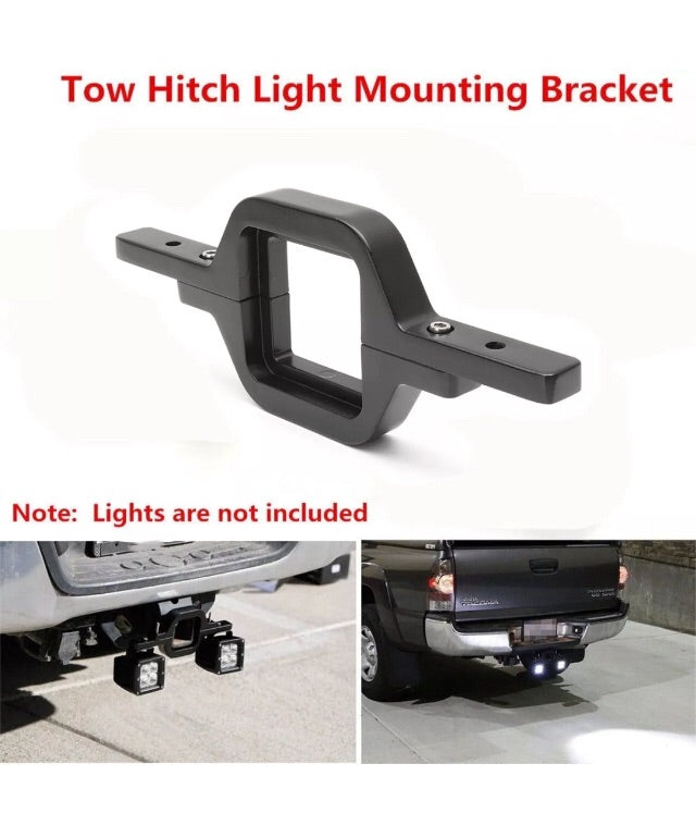 Tow hitch mounting Bracket, for reverse lights,Bracket Only - BrightSparkLedCo