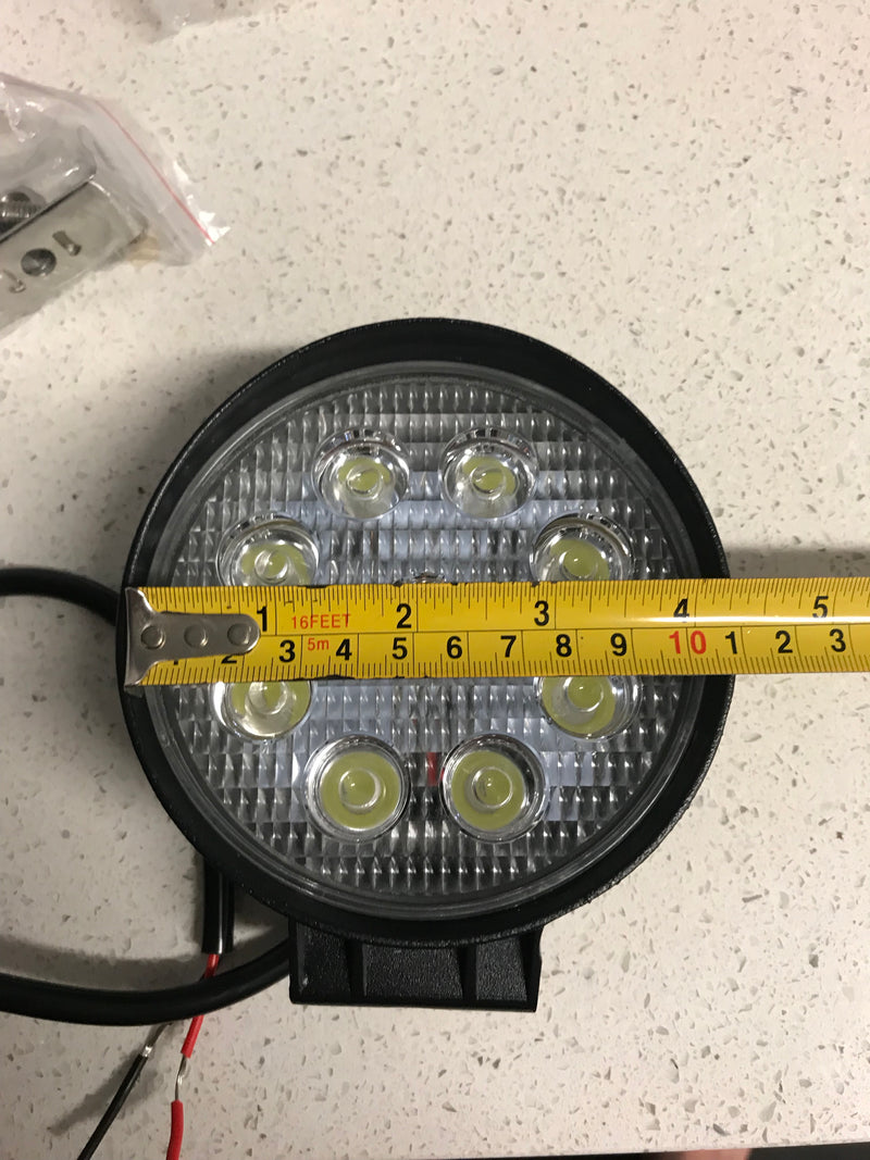 "23"" 228 WATT Cree Led Light Bar And 2 x Round Led Spotlights - BrightSparkLedCo"