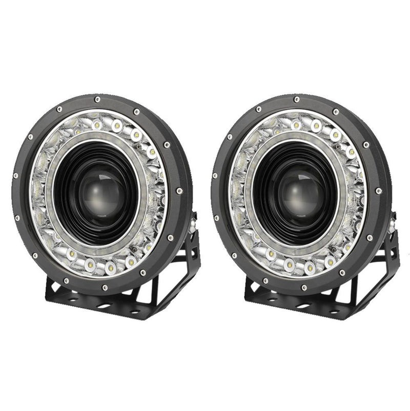 "Pair 9""CREE LED Driving Spotlights 1lux@1850"