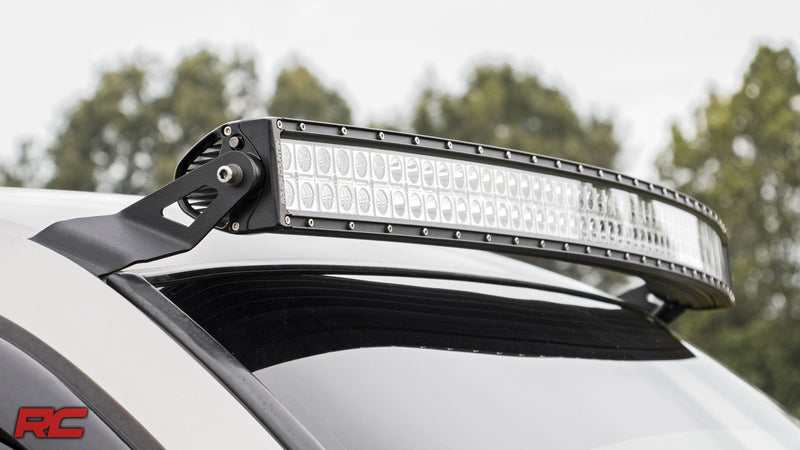"Philips 52"" 7D CURVED + 20"" Led Light Bar - BrightSparkLedCo"