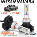NISSAN NAVARA Led Headlight, Conversion Kit 1997-2010 - BrightSparkLedCo